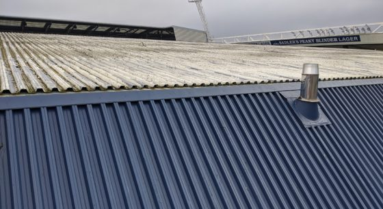 West Bromwich Stadium Before Coating (3)