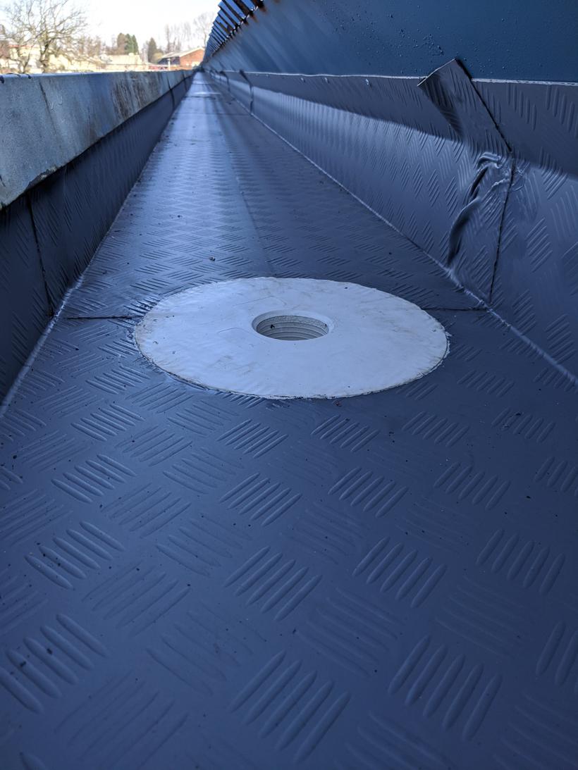 West Bromwich Stadium Gutter Repair