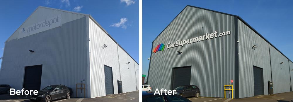 Car Showroom Refurbishment