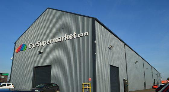 Carsupermarket.com Hull after external painting