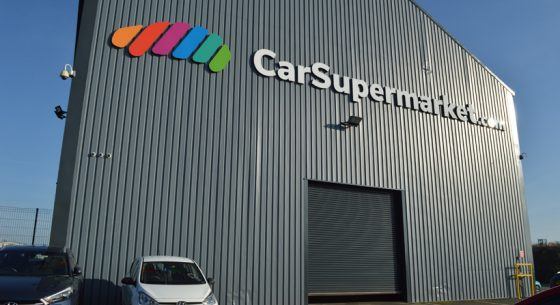 Carsupermarket.com Hull, External Refurbishment