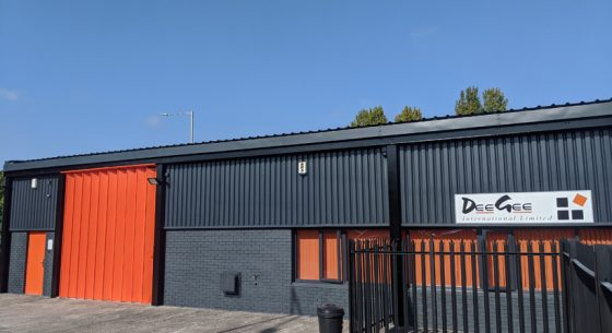 Dee Gee building front after refurbishment
