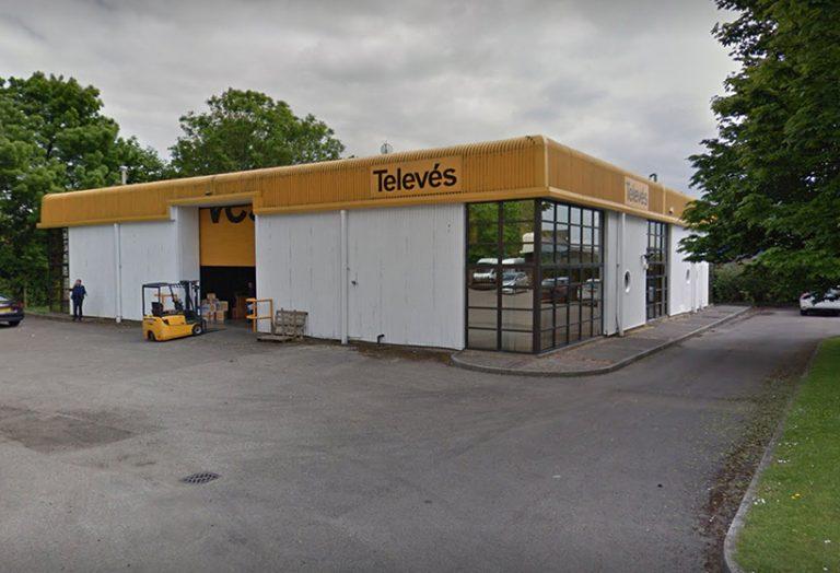 Televes Building Before Refurbishment