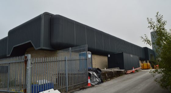 Former Buxton Spring, Buxton after cladding coating