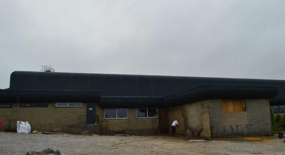 Former Buxton Spring, Buxton external cladding