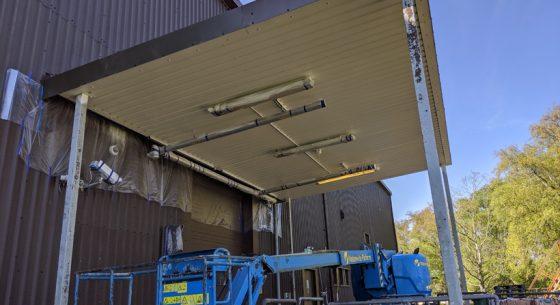 Military base canopy