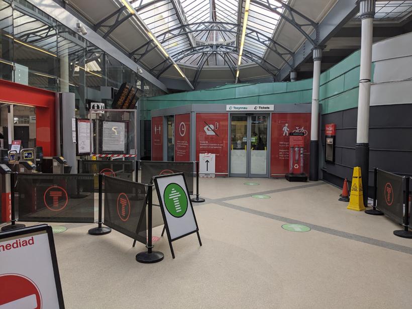 Railway Station, Swansea