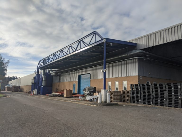 Brother Industries Wrexham Side After Refurbishment