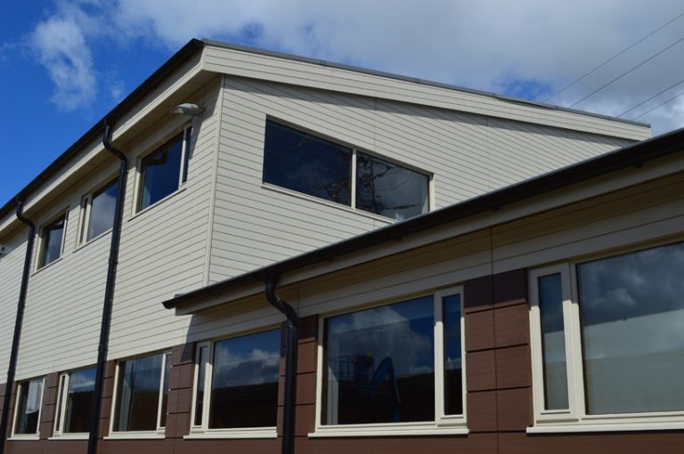 Metsa Wood Widnes Wooden Cladding Project