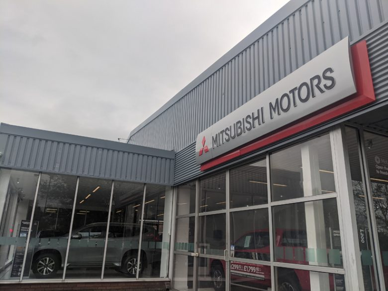 Premier Mitsubishi Hyde - Car Showroom Refurbishment