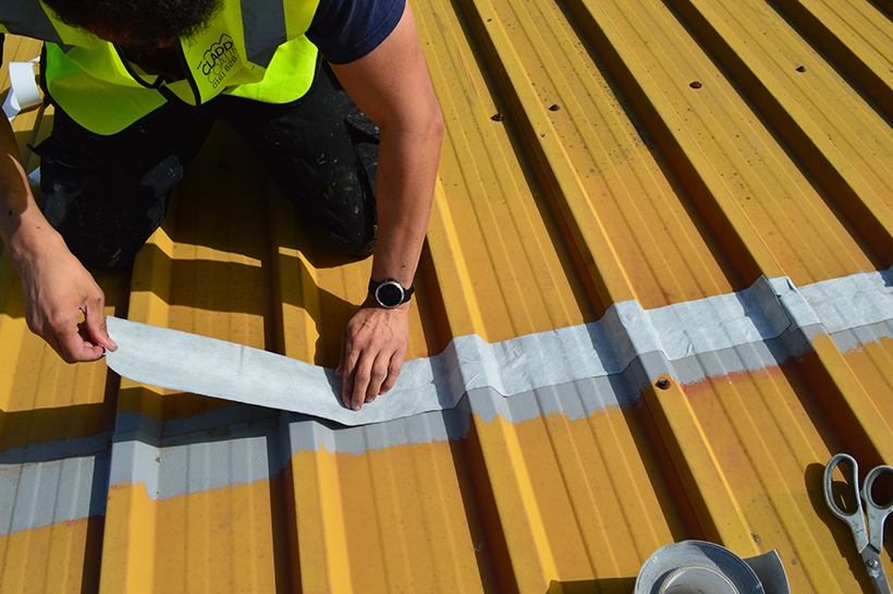 Cut-edge corrosion repair