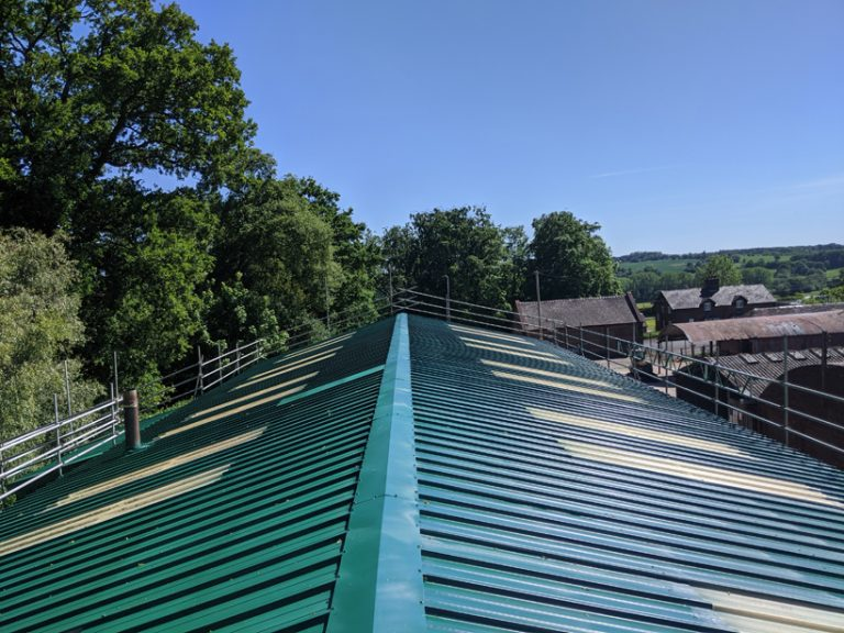 Hales Sawmills Roof Coating