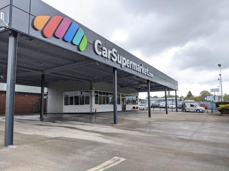 Cladding Painting Car Supermarket Birmingham