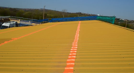 The Fleets Barnsley College Finished Section of Roof